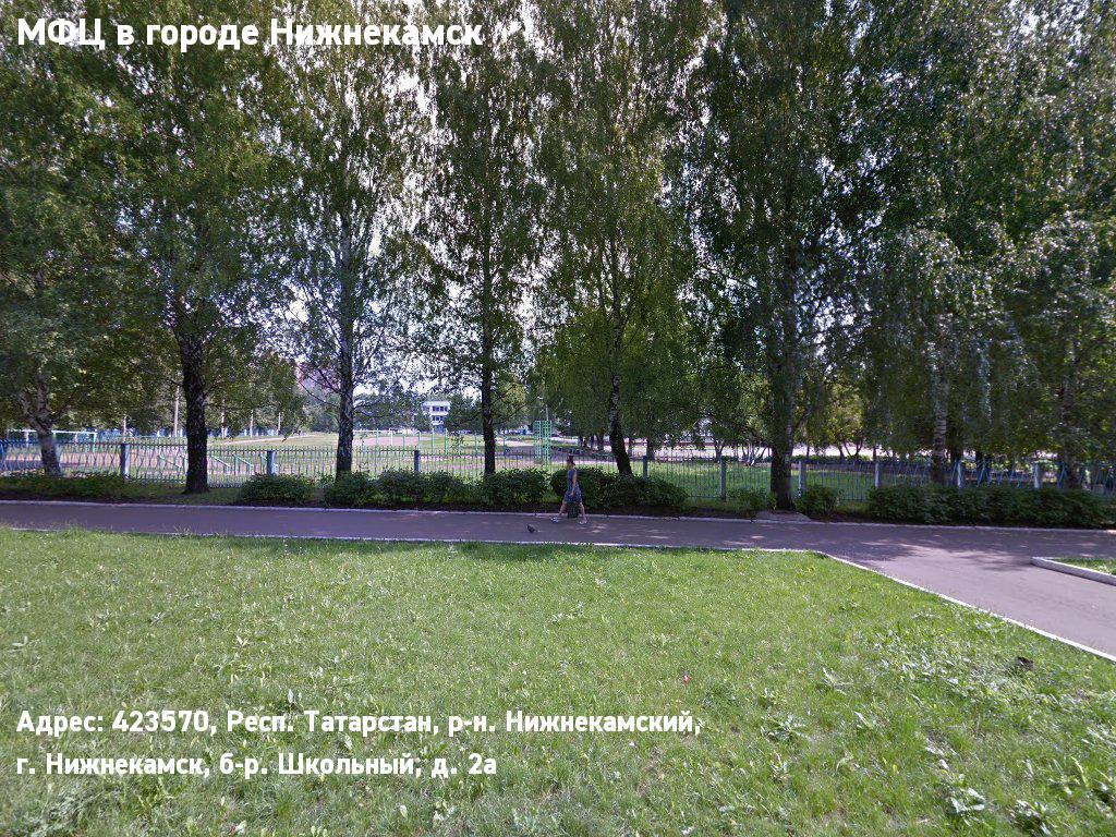МФЦ в городе Нижнекамск (Нижнекамский муниципальный район)